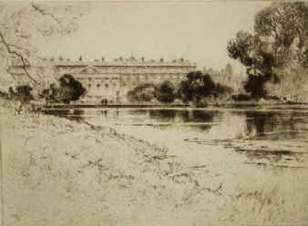 Percy Robertson; 'Hampton Court, London' 1922